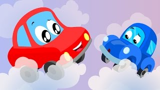 Little Red Car | Rig A Jig Jig Song | Nursery Rhymes For Kids