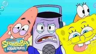SpongeBob SquarePants | Perch Perkins LOVES Frozen Krabby Patties | Nick