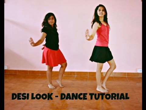Desi Look- Sunny Leone: Bollywood Dance Tutorial   Dynamic Dance Duo