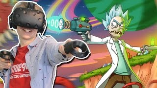 THE DAY THE PLUMBUS CAME ALIVE! | Rick and Morty: Virtual Rick-ality (HTC Vive Gameplay) Ep 2
