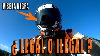 La visera negra es LEGAL O ILEGAL? KTM DUKE 125 2017