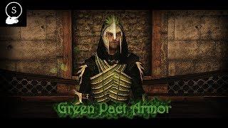 Green Pact Armor | TES V: Skyrim | Armor & Weapon Mod Showcase