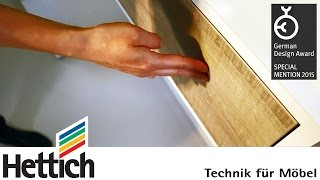 German Design Award – Special Mention for Push to open Silent and ArciTech