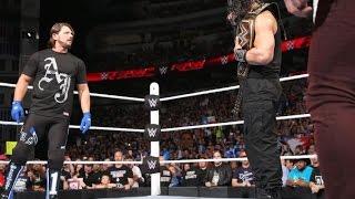 WWE Extreme rules 2016 - Roman reigns vs Aj Styles Promo HD