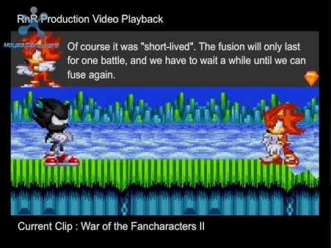 Sonic Flash Chaos Armageddon Episode 2 Part 1 Act 2 Scenes 4 thru 6 and Credits