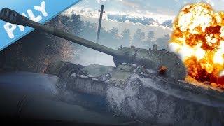 SIM TANKS - T-44-122 BIG SHOT (War Thunder Tanks Gameplay)