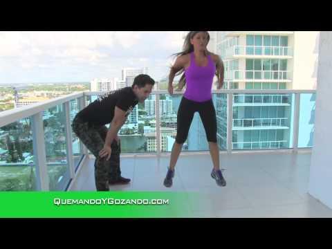 Elimina la Celulitis Con Esta Rutina de 3 Minutos Con el Entrenador José Fernández Salvando Vidas