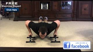 How to Do Push Ups on a Bar