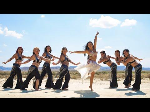 Aprende Danza Oriental con Patricia Beltrán. BELLYDANCE VIDEOCLIP 2011
