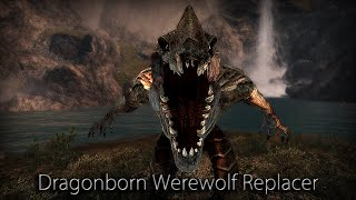 DragonBorn Werewolf Replacer Player Only | TES V: Skyrim | Steam Workshop Mod