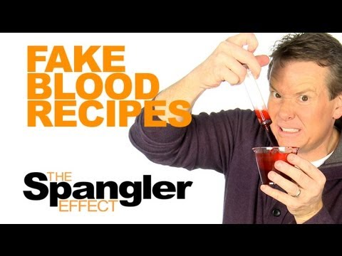 The Spangler Effect Fake Blood Recipes Season 01 Episodes 40 41