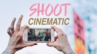 4 tips for shooting SMOOTH CINEMATIC video on your iPhone!