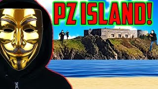 PROJECT ZORGO News - GOLDEN HACKER! Searching ABANDONED ISLAND FORT for Clues