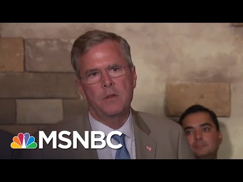 Jeb Bush: Anchor Babies 'More Related To Asian People' | MSNBC