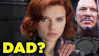 BLACK WIDOW Father Ivan Vanko? Natasha Origin Theory | Inside Marvel