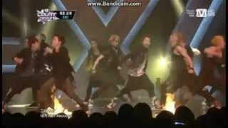 130530 EXO Wolf Comeback Stage on MCountdown