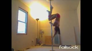 Fail Sock: Hot Pole Dance Fails