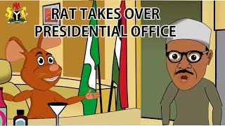 Rat takes over President Buhari's office