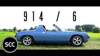 PORSCHE 914/6 1971 - Full test drive in top gear | SCC TV