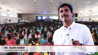 How to become a leader? | Sujith Kumar | Infosys | ICTACT Youth Summit 2015
