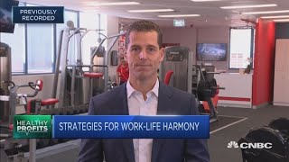 Morning workouts are key to work-life balance for busy executives: Fitness expert | In The News