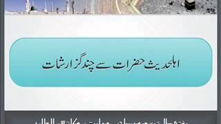 Mufti Tariq Masood - Ahle Hadees Hazrat Say Chand Guzarishat