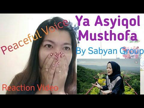 Ya Asyiqol Musthofa By Sabyan| Filipina Reaction