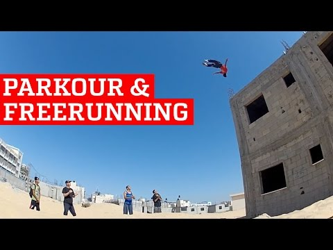 BEST PARKOUR & FREERUNNING 2016 PEOPLE ARE AWESOME