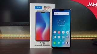 Vivo V9 Unboxing and Hands-On