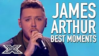 BEST of X Factor Winner James Arthur | Including 'Impossible' Live Final performance