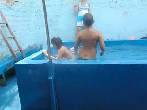 Banho de piscina