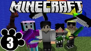 Minecraft Adventure Indonesia - Melawan Monster Laut! ft. 4Brothers (3)