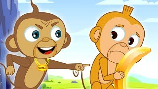 Bananas To The Rescue | Funny Cartoons for Children | The Adventures of Annie and Ben!