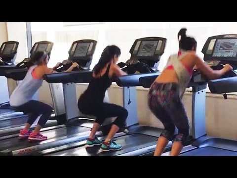Katrina Kaif,Alia Bhatt,Parineeti Chopra HOT Workout In Gym | Dream Team 2016