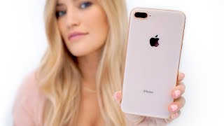 Gold iPhone 8 Plus Unboxing!
