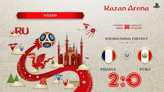 France - Peru,  FIFA 18 World Cup 2018 Russia Prediction Games (Group C)