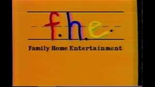 f.h.e Family Home Entertainment - 1986 video Logo