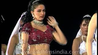Madhuri Dixit - Bollywood actress does a dance shoot