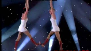 Duo Scarlette - Trapeze Act - The world greatest Cabaret