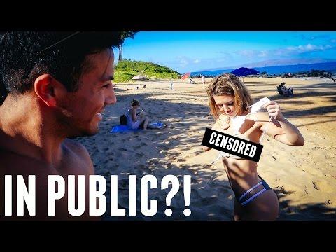 How To Change A Bikini in Public