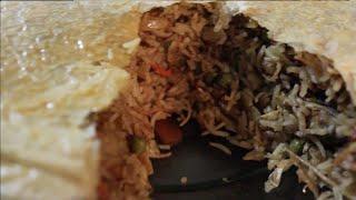 بردة بلاو عراقي - Rice with Dough | المطبخ العربي