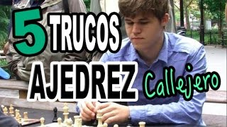 5 trucos de ajedrez callejero | Ganar en ajedrez rápido (blitz chess)