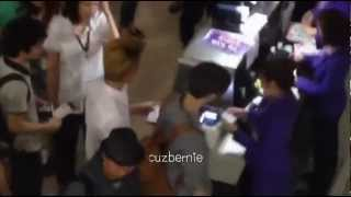 [FANCAM] 120728 EXO-M DEPARTURE AT SUVARNABHUMI AIRPORT