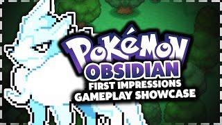 Pokemon Obsidian - Pokemon Fan Game Review/Showcase
