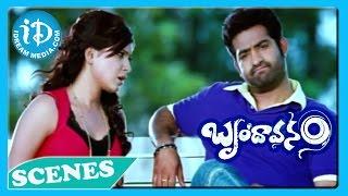 Brindavanam Movie - Jr N T R, kajal Agarwal, Samantha Best Scene