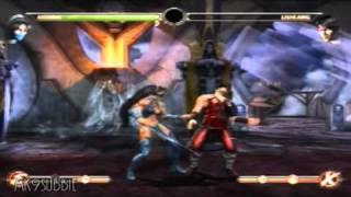 Mortal Kombat 9 - All Characters Victory Pose