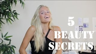 5 Beauty Secrets (Healthy & Natural Look)