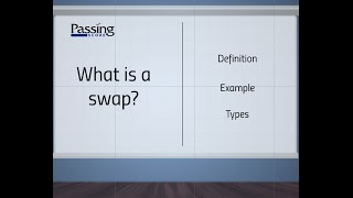 What is a swap?