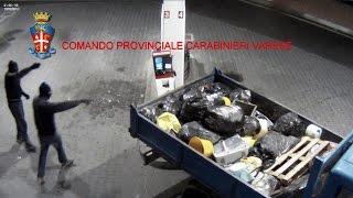 VARESE: BANDA DI ROM DISTRUGGE SELF SERVICE CARBURANTI