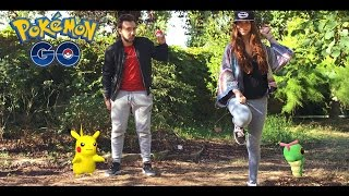 POKEMON GO IN REAL LIFE !! - Court metrage David Lafarge Pokemon